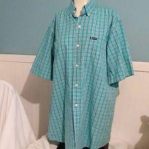 Mens Chaps LT Button Down Shirt. Size LT